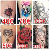 Tatuati senza aspettare mesi a prezzi imbattibili
