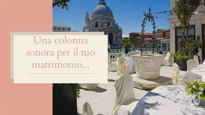 Una Colonna Sonora per il Tuo Matrimonio