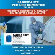 Sanificante uso domestico
