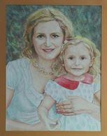 Dipingo ritratti realistici dalle