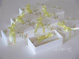 Scatole porta confetti a tema personalizzate