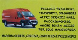 Servizio facchinaggio a chiamata Ancona