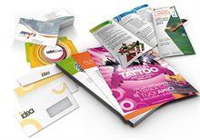 Grafica per biglietti da visita, brochure, locandine, flyer
