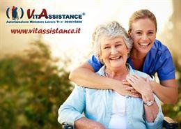 Badante a ore e convivente assistenza domiciliare anziani